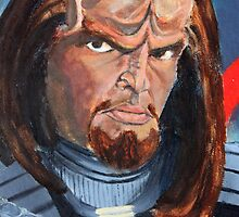Worf by SpaceMonkeys