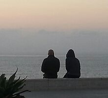 Couple Watching Sunset in RB by Matthew Nickle