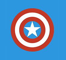 Captain America iPad Case by LauraHorgan