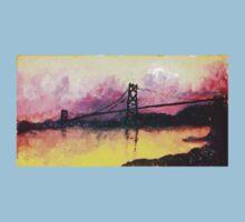 Macdonald Bridge Impressionism by azummo