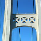 Mackinac Bridge Detail 3 by marybedy