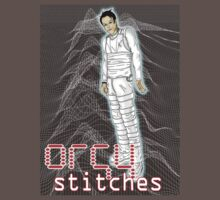 Orgy Stitches Joy division shirt by Shaina Karasik