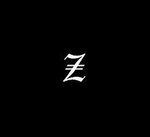"""Z"" Old English Letter by Littlemantarzan"