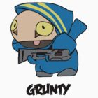 World of Warcraft Grunty by DeviilDog