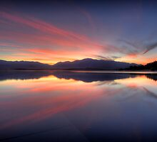 Lake Tekapo Sunrise by Alex Stojan