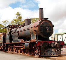 Rusting Steam Train by jwwallace