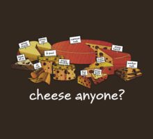 Starcraft Cheese - white text by SCshirts