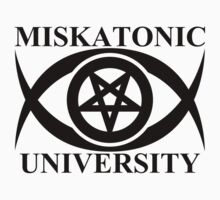 MISKATONIC UNIVERSITY by auraclover