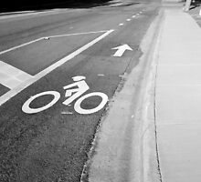 BICYCLE LANE by Sandra  Aguirre