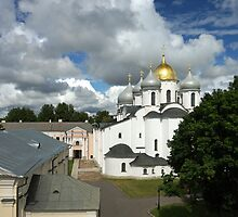 Saint Sophia Cathedral in Novgorod, Russia (FC) by olegkuzmin