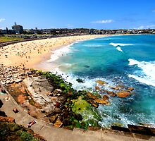 Summer Sun, Bondi Beach by JaneEmmaPhoto