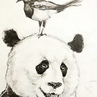 Panda and the Magpie by Victoria Stanway