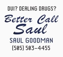 Better Call Saul (Breaking Bad) by designCENTRAL