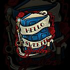 Hello Sweetie (iphone case) by Ameda Nowlin