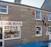 The cook book in St Just Cornwall by Keith Larby