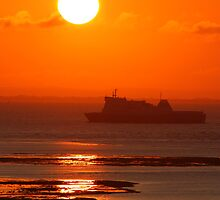 Ferries of the English Channel & Solent by Jonathan Cox