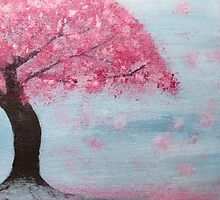 Cherry Blossom Tree by Emily Jane Dixon