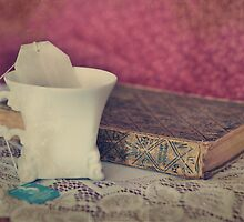 Tea & Book by weatherington