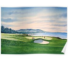 Pebble Beach 9Th Hole Poster