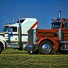 Kenworth and Peterbilt Semi Trucks by TeeMack