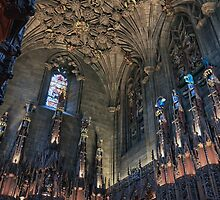 St Giles Cathedral: The Thistle Chapel, Edinburgh by Miles Gray