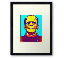 Boris Karloff, alias in The Bride of Frankenstein Framed Print