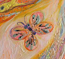 Original painting fragment 84 by Elena Kotliarker