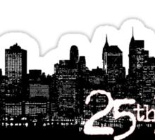 25th hour Sticker