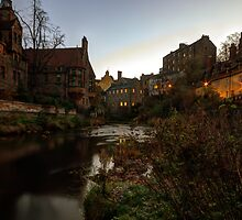 Dean Village Sunrise, Edinburgh by Miles Gray