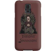 Throne Swanson Samsung Galaxy Case/Skin