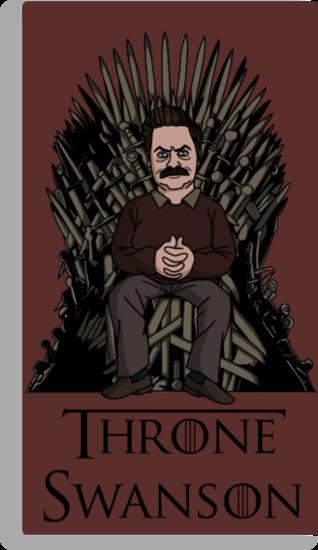 Throne Swanson by jasesa