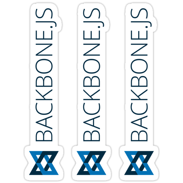Backbone.js ×3 by csyz ★ $1.49 stickers