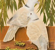 Grandparents Day Grandpa Doves by jkartlife