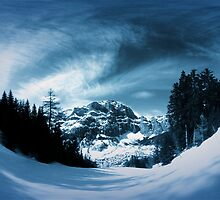 Leukerbad winter by Jack Holden