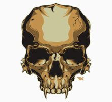 Golden Skull Kids Clothes