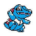 Pokemon - Totodile Sprite by ffiorentini