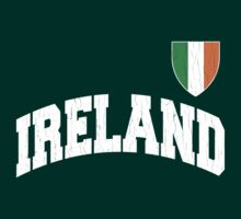 Classic IRELAND Football Jersey (Vintage Distressed) by robotface