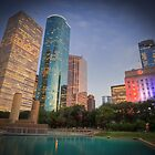 Colourful Houston by RayDevlin