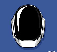 Guy-Manuel de Homem-Christo Daft Punk Portrait by NugsInMyPocket