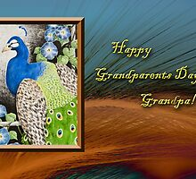 Grandparents Day Grandpa Peacock by jkartlife