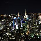 NYC at Night by Jill Vadala