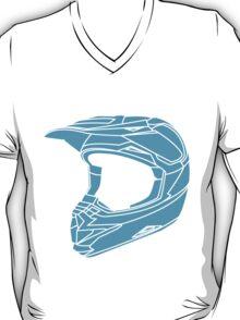 Mx Helmet Bright Blue T-Shirt