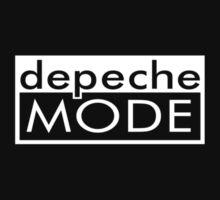 Depeche Mode Sign White by Fuck Wear