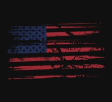 Grunge American Flag - USA by N3ON