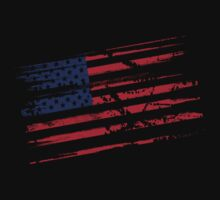 USA Grunge Flag by N3ON