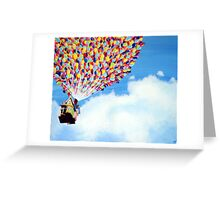"""Up"" Disney Painting Greeting Card"