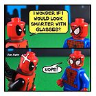 Would i look Smarter in Glasses? by LegoLegion