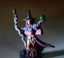 witch figurine. by AnjiMarth