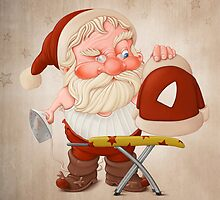 Santa Claus with flatiron by jordygraph