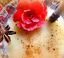Homemade Apple & Pear Compote with Staranise by ©The Creative  Minds